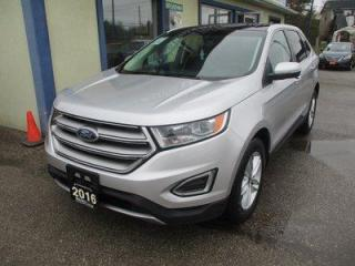 Used 2016 Ford Edge ALL-WHEEL DRIVE SEL EDITION 5 PASSENGER 3.5L - V6.. NAVIGATION.. LEATHER.. HEATED SEATS.. BLUETOOTH SYSTEM.. PANORAMIC SUNROOF.. BACK-UP CAMERA.. for sale in Bradford, ON