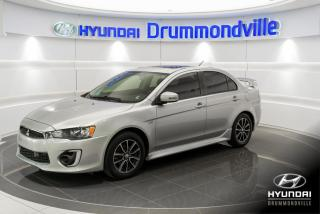 Used 2017 Mitsubishi Lancer SEL AWC + GARANTIE + MAGS + TOIT + WOW ! for sale in Drummondville, QC