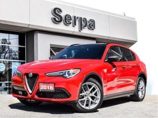 Used 2018 Alfa Romeo Stelvio ti |NAV|PANOROOF|AUDIO|20S|SPORTBUCKETS| for sale in Toronto, ON
