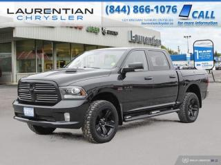 Used 2016 RAM 1500 Sport!!  HEATED SEATS!!  BACKUP CAMERA!!  RAM BOX!! for sale in Sudbury, ON