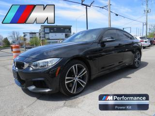 Used 2016 BMW 4 Series 435i xDrive AWD *M PERFORMANCE PKG* CUIR BLANC for sale in St-Eustache, QC