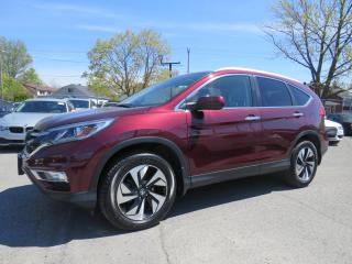 Used 2016 Honda CR-V AWD Touring NAVI CAMERA CUIR TOIT MAGS 18 for sale in St-Eustache, QC