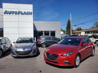 Used 2014 Mazda MAZDA3 GS Sport Hatchback *Bluetooth *Camera for sale in St-Hubert, QC