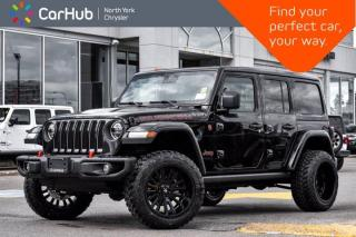 New 2020 Jeep Wrangler Unlimited New Rubicon 4x4 Blind Spot Adapt Cruise Remote Start Heat Seats for sale in Thornhill, ON