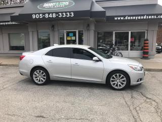Used 2015 Chevrolet Malibu LT for sale in Mississauga, ON