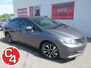 Used 2015 Honda Civic EX TOIT MAGS AUTO BLUETOOTH AILERON for sale in St-Jérôme, QC