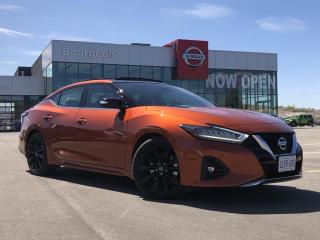 New 2020 Nissan Maxima SR DEMO for sale in Midland, ON