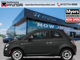 Used 2015 Fiat 500 LOUNGE  - Trade-in - Non-smoker - $75 B/W for sale in Nepean, ON