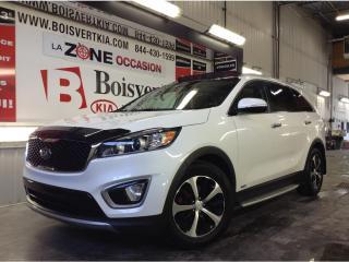 Used 2016 Kia Sorento EX+ AWD 7 PASSAGÉS CUIR TOIT PANO SUPER ÉQUIPÉ for sale in Blainville, QC