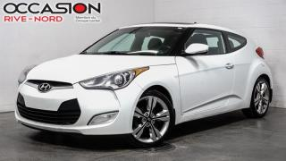 Used 2016 Hyundai Veloster SE NAVI+TOIT.OUVRANT for sale in Boisbriand, QC