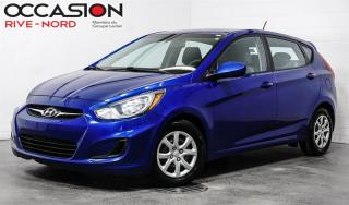Used 2014 Hyundai Accent GL SIEGES.CHAUFFANTS+BLUETOOTH+A/C for sale in Boisbriand, QC