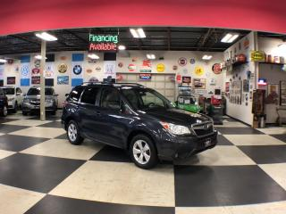 Used 2015 Subaru Forester 2.5i TOURING PKG PZEV AUT0 AWD H/SEATS REAR CA for sale in North York, ON