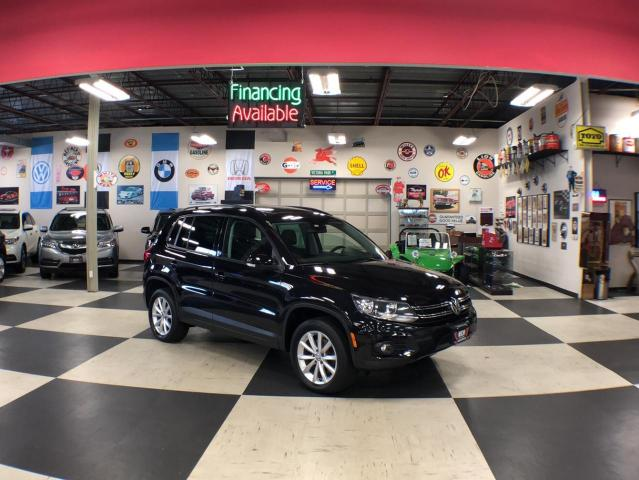 2017 Volkswagen Tiguan WOLFSBURG EDITION  AUT0 AWD LEATHER PANO/ROOF 118K