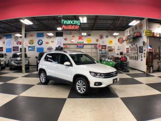 Used 2017 Volkswagen Tiguan WOLFSBURG EDITION  AUT0 AWD LEATHER PUSH START 92K for sale in North York, ON