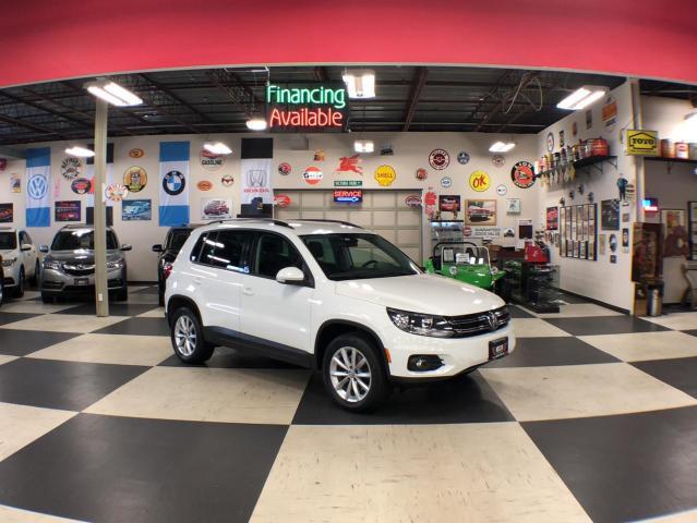 2017 Volkswagen Tiguan WOLFSBURG EDITION  AUT0 AWD LEATHER PUSH START 92K