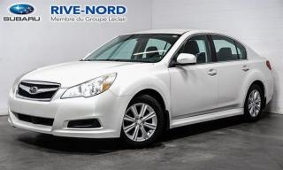 Used 2012 Subaru Legacy 4 cylindres 4x4 full for sale in Boisbriand, QC