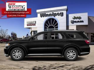 Used 2017 Dodge Durango SXT for sale in Winnipeg, MB