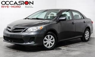 Used 2013 Toyota Corolla CE AIR-CLIMATISÉ+AUTOMATIQUE for sale in Boisbriand, QC