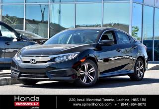 Used 2017 Honda Civic DEAL PENDING LX AUTO MAGS BAS KM AUTO BLUETOOTH APPLE CARPLAY CAM RECUL++ for sale in Lachine, QC