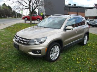 Used 2015 Volkswagen Tiguan Special Edition ~ PANO ROOF ~ NAV ~ REAR CAM for sale in Toronto, ON