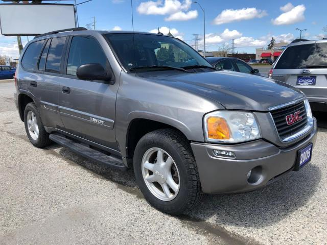 2005 GMC Envoy SLE, ONE OWNER, ACCIDENT FREE, 3 YR WARRANTY, CERT