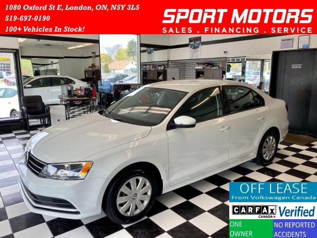 2016 Volkswagen Jetta Trendline+Camera+New Tires+Accident Free
