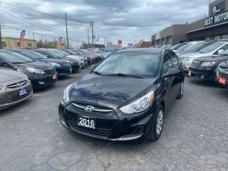 Used 2016 Hyundai Accent GL for sale in Hamilton, ON