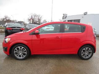 Used 2016 Chevrolet Sonic LT Auto - Sunroof/Bluetooth/Camera/Remote Start for sale in Winnipeg, MB