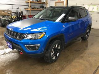 Used 2018 Jeep Compass Trailhawk 4x4 for sale in Kapuskasing, ON