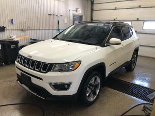 Used 2018 Jeep Compass Limited 4X4 for sale in Kapuskasing, ON
