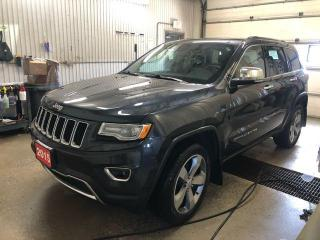 Used 2015 Jeep Grand Cherokee 4x4 Limited for sale in Kapuskasing, ON