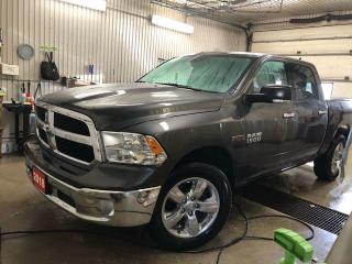 Used 2018 RAM 1500 SLT 4x4 Crew Cab 57  Box for sale in Kapuskasing, ON