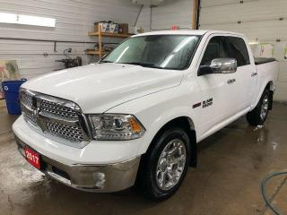 Used 2017 RAM 1500 4x4 Laramie ECODIESEL for sale in Kapuskasing, ON