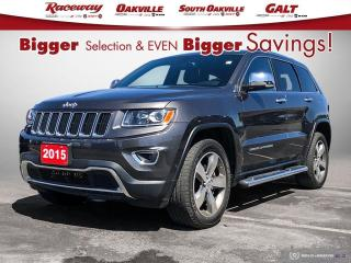Used 2015 Jeep Grand Cherokee 4WD 4Dr Limited for sale in Etobicoke, ON