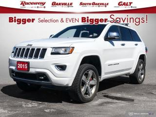 Used 2015 Jeep Grand Cherokee 4WD 4dr Overland for sale in Etobicoke, ON