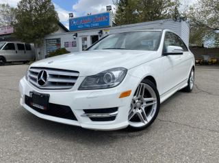 Used 2013 Mercedes-Benz C-Class 4dr Sdn C350 4MATIC *ACCIDENT FREE *Navi*BACK UP CAM for sale in Brampton, ON