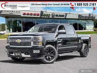 Used 2014 Chevrolet Silverado 1500 High Country Crew Cab Standard Box 4WD 3LZ for sale in Cornwall, ON