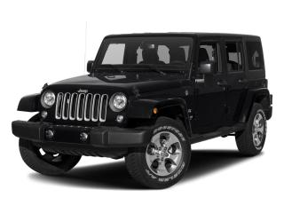 Used 2017 Jeep Wrangler UNLIMITED 4WD 4DR SAHARA for sale in Mississauga, ON