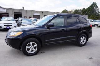 Used 2009 Hyundai Santa Fe GL V6 CERTIFIED 2YR WARRANTY SUNROOF HEATED LEATHER *FREE ACCIDENT* CRUISE AUX ALLOYS for sale in Milton, ON