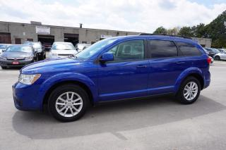 Used 2015 Dodge Journey SXT 7 PSSNGRS CERTIFIED 2YR WARRANTY DVD CAMERA BLUETOOTH P. START ALLOYS for sale in Milton, ON