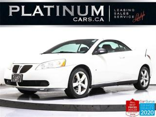 Used 2007 Pontiac G6 GT, CONVERTIBLE, V6, CRUISE CONTROL, HEATED SEATS for sale in Toronto, ON