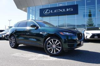 Used 2018 Jaguar F-PACE 35t AWD Prestige / LOW KM, Local, ONE Owner, NO Cl for sale in North Vancouver, BC