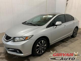 Used 2013 Honda Civic EX Mags Toit ouvrant Sièges chauffants for sale in Trois-Rivières, QC