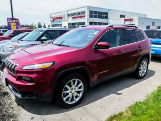 Used 2017 Jeep Cherokee Limited FWD for sale in London, ON