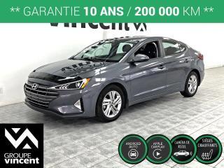 Used 2020 Hyundai Elantra Preferred ** GARANTIE 10 ANS ** Véhicule comme neuf! for sale in Shawinigan, QC