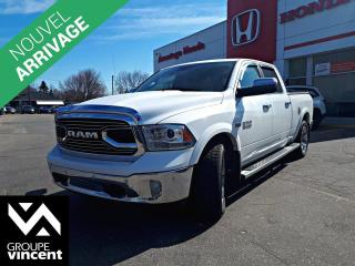 Used 2016 RAM 1500 LIMITED 4X4 ** GARANTIE 10 ANS ** Des rénovations simplifiées cet été! for sale in Shawinigan, QC