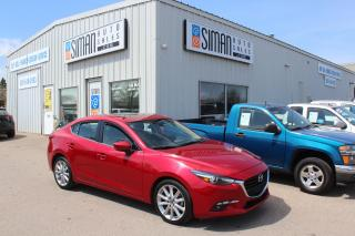 Used 2017 Mazda MAZDA3 GT SUNROOF NAVIGATION FACTORY WARRANTY for sale in Regina, SK