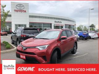 Used 2016 Toyota RAV4 LE UPGRADE - HEATED FRONT SEATS - BACKUP CAMERA for sale in Stouffville, ON