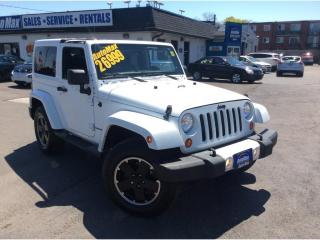 Used 2012 Jeep Wrangler Sahara for sale in Sarnia, ON