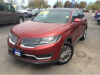 Used 2016 Lincoln MKX Select for sale in Sarnia, ON